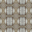 Wood and Iron Ornament Pattern — Stock Photo #37405041