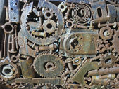 Industrial Gear Texture — Stock Photo