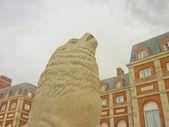 Sea Lion Sculpture — Stock Photo