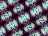Modèle géométrique de l'espace futuriste — Photo