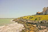 Costa de mar del plata — Foto de Stock