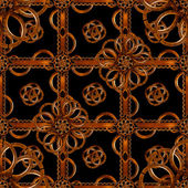 Refined Wood Decorative Background Pattern — Stock Photo