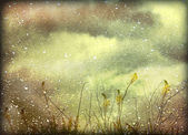 Dreamy Grunge Nature Background — Stock Photo