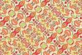 Multicolored Ornament Swirls — ストック写真