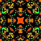 Vibrant Colors Refined Ornament — Stock Photo