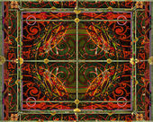 Ornament Collage Design — Stock Photo