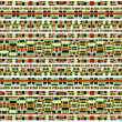 Aztec Style Pattern — Stock Photo