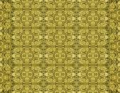 Ancient Golden Decorative Pattern — Stock Photo