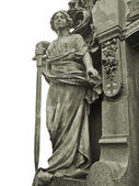 Grave Sculpture — Stock Photo
