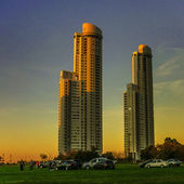 Skycrappers de la ville de rosario — Photo