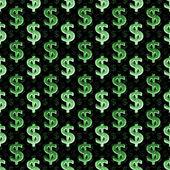 お金のシンボル暗いパターン — ストック写真