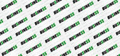 Lucrative Business Typographic Pattern Design — Stock Photo