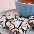 Crinkle cookies — Stock Photo #12854985