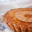 Stock Photo: Pear tart brule