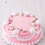 Pink cake — Stock Photo