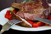 Veal steak — Stock Photo