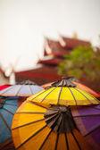 Lao Umbrellas — Stock Photo