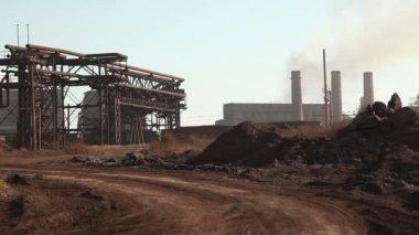 Büyük Metalurji tesisi — Stok video