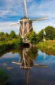 Amsterdam Windmill — Stock Photo