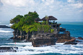 Tanah Lot Temple, Indian Ocean, Bali — Stock Photo