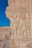 Hieroglyphs on the Nile — Stock Photo