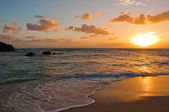 Sunset on Samana, Dominican Republic — Stock Photo