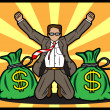 Success Businessman — Stock Vector #21994587