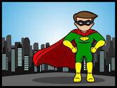 Little Superhero — Stock Vector