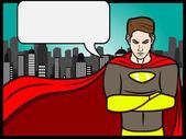 Talking Heroes — Stock Vector