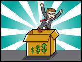 Investment Promise - Illustration — Stock Vector