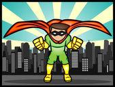 City Defender — Stock Vector