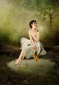 Serenada lasu — Zdjęcie stockowe