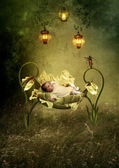 Cradle Song — Stock Photo