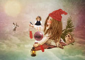 Christmas Fairy Tale — Stock Photo