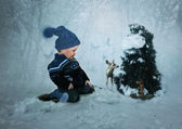 The winter Fairy Tale — Stock Photo