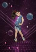 The cosmic dance — Stock Photo