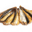 Stock Photo: Smoked sprats