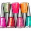 Stock Photo: Bottles of nail polish