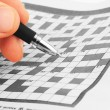 Crossword — Foto de stock #13343257