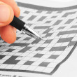Crossword — Stockfoto