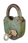 Old padlock — Stock Photo