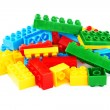 Set of color building blocks — Stock Photo #13820342