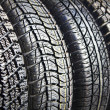 Royalty-Free Stock Photo: Winter rubber