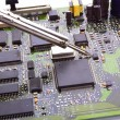 Electronic circuit - Stockfoto