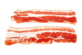 Fresh sliced bacon — Stock Photo