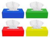 Tissue box — Stock Photo