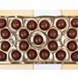 Box with chocolates — Stock Photo