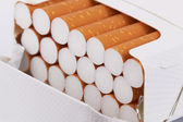 Cigarettes in pack — Stock Photo