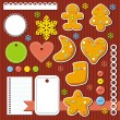 Stickers for scrapbook — Stock Photo