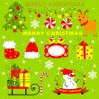 Stock Photo: Christmas clip art